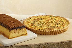 Quiche & Capricho Flan Chocolate