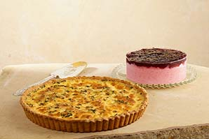 Quiche & Cheesecake Frutos Rojos